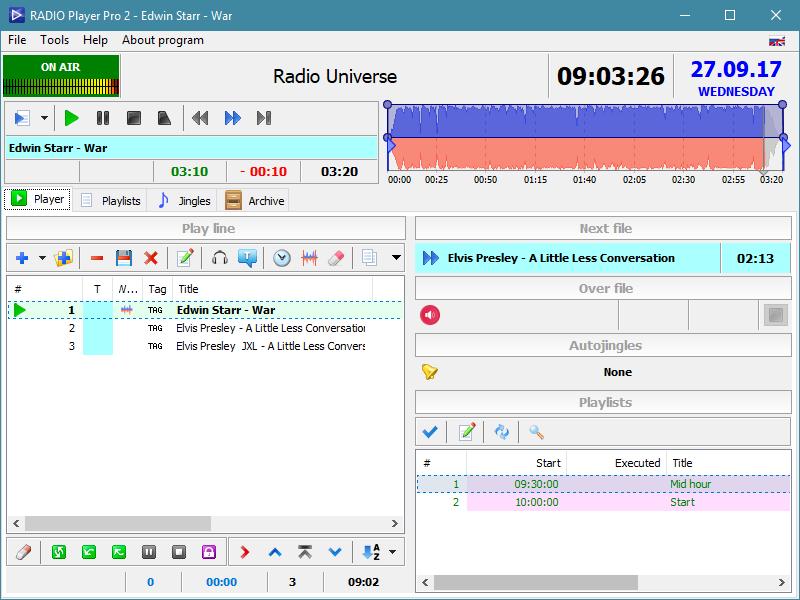 RADIO Player Pro full screenshot