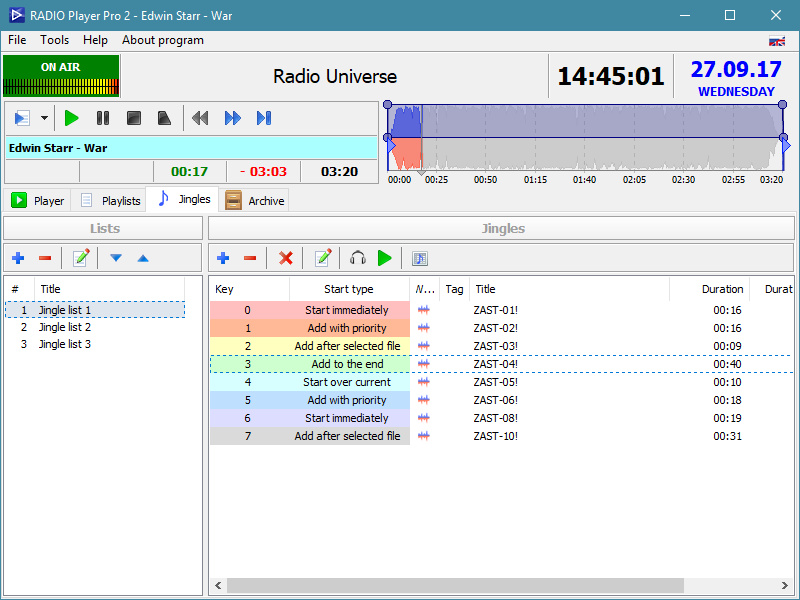 RADIO Player Pro screenshot